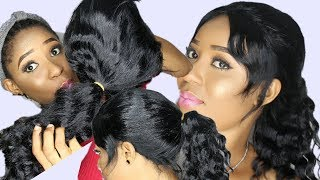 FULL SEW IN WIG NO CLOSURE/ NO LEAVE OUT / DETAILED TUTORIAL /#6