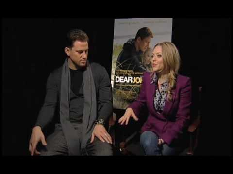 Channing Tatum and Amanda Seyfried Dear John Interview