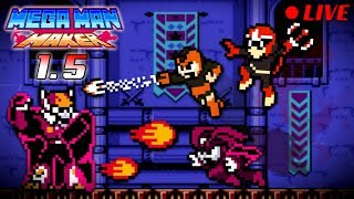 We Play YOUR Mega Man Maker Levels LIVE #77