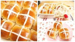 Soft Sweet Bread Recipe Hot Cross Bun