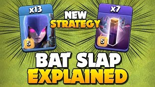 Bat Slap EXPLAINED!! *NEW* Best TH12 Attack Strategy - How to us Mass Witches in Clash of Clans!
