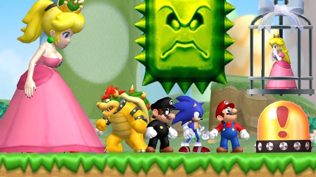 Amazing New Super Mario Bros. Wii Games - 24/7 Hour Stream - YouTube