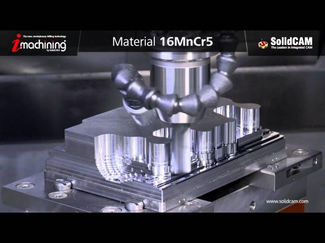 Обработка формы с iMachining 3D