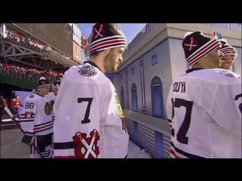 2015 Winter Classic Intros & Anthem - Washington Capitals vs. Chicago Blackhawks