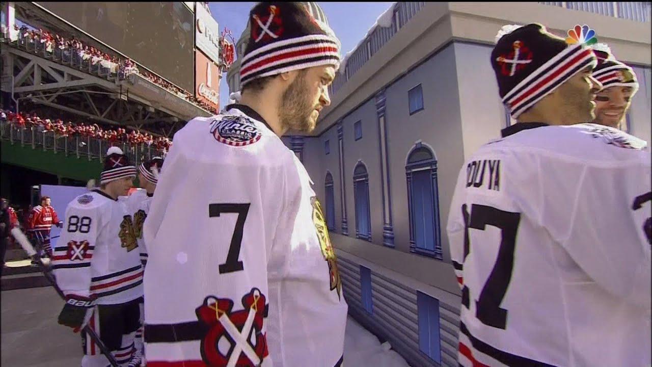 2015 Winter Classic Intros   Anthem - Washington Capitals vs. Chicago  Blackhawks f3a76a04b