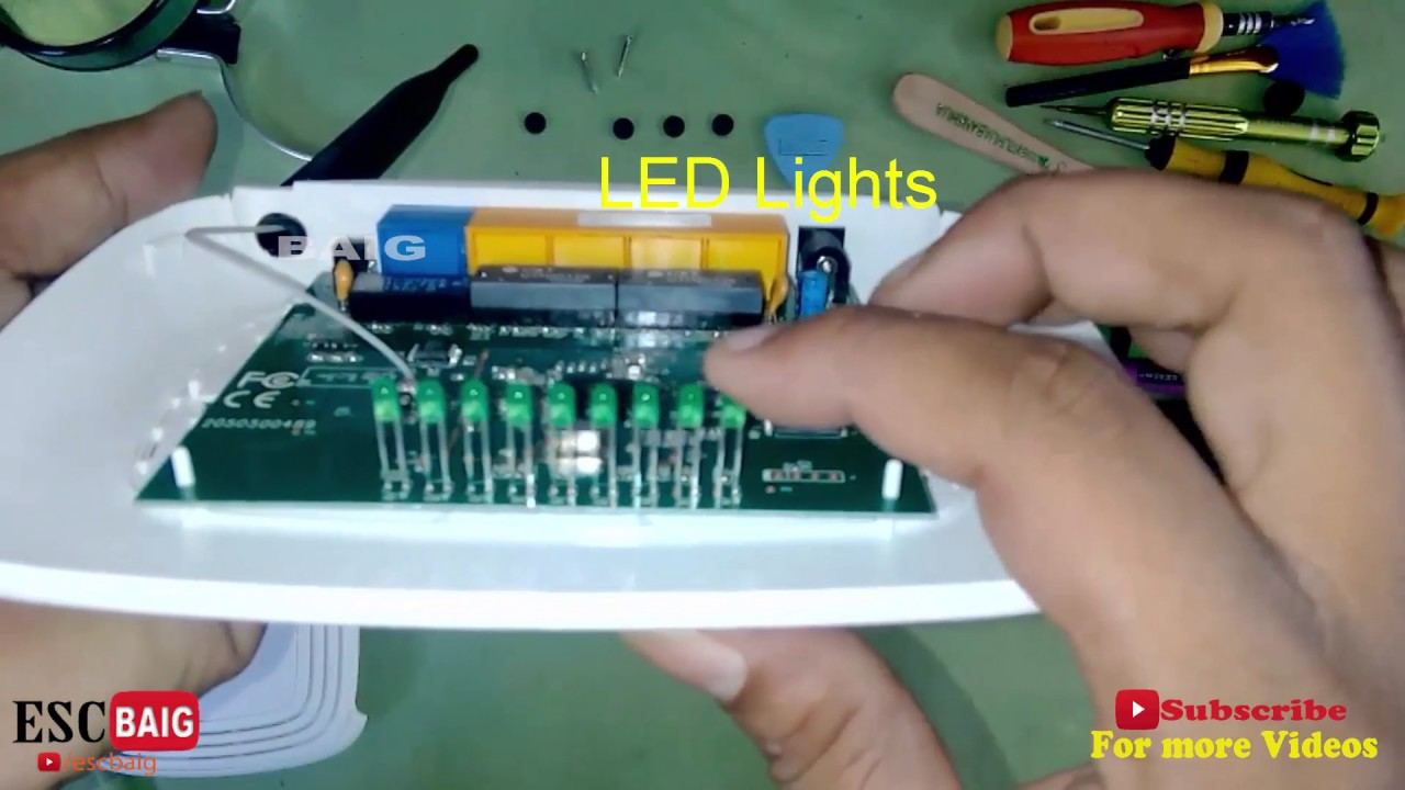 Wifi Router Inside Tp Link Wr740n Disassemble How To