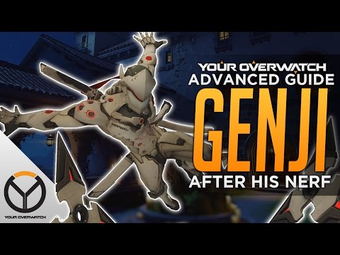 Overwatch Advanced Genji Guide: Deflect & Shuriken Accuracy