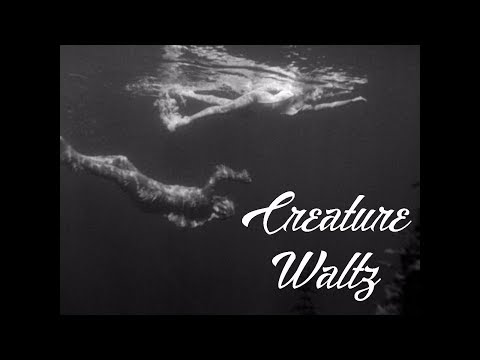 CREATURE WALTZ JULIE ADAMS SWIMS CREATURE FROM THE BLACK LAGOON 1954 THEME FROM A SUMMER PLACE
