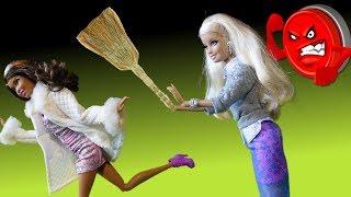 Мультик Барби Супер серия Выгоняют Гувернантку Видео для девочек Куклы Барби на русском
