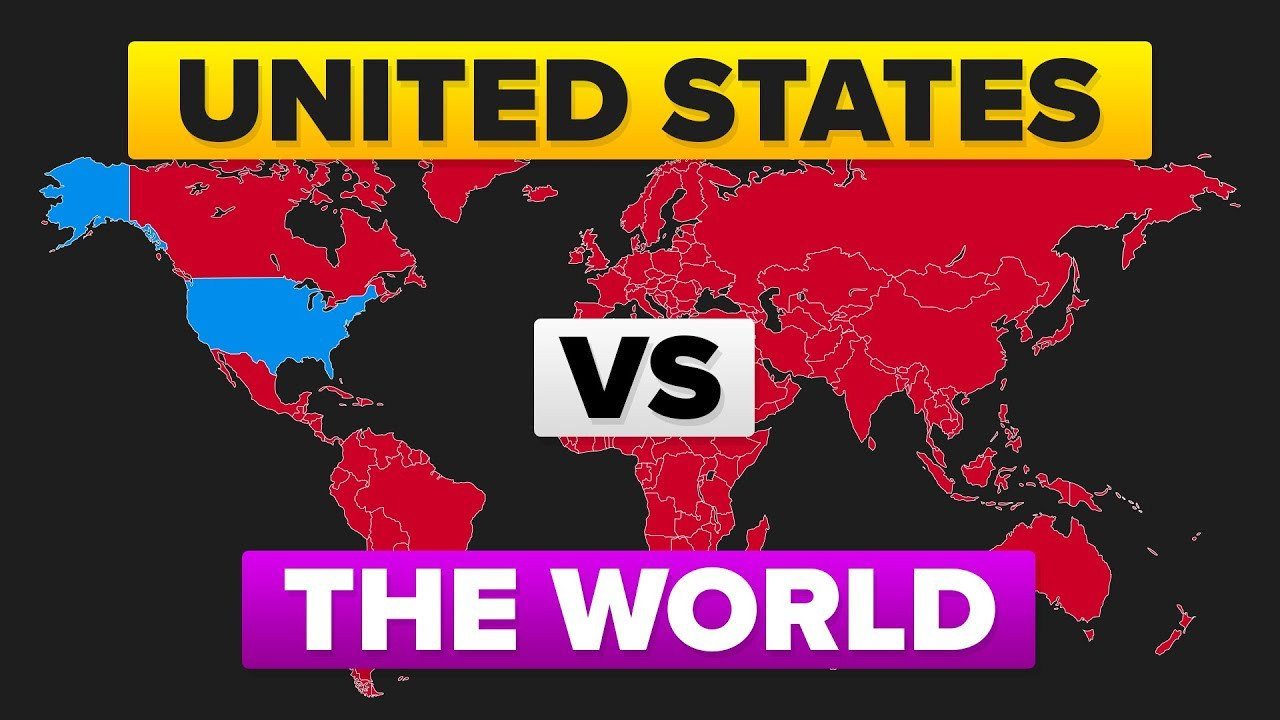 The United States Usa Vs World Who Would Win Military Army Comparison