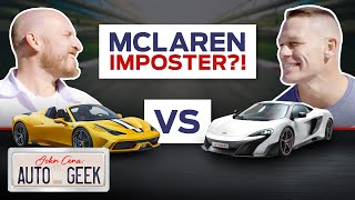 Is the McLaren 675LT a Ferrari wanna-be? - John Cena: Auto Geek