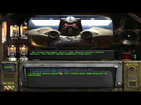 Fallout 2 Frank Horrigan Speech