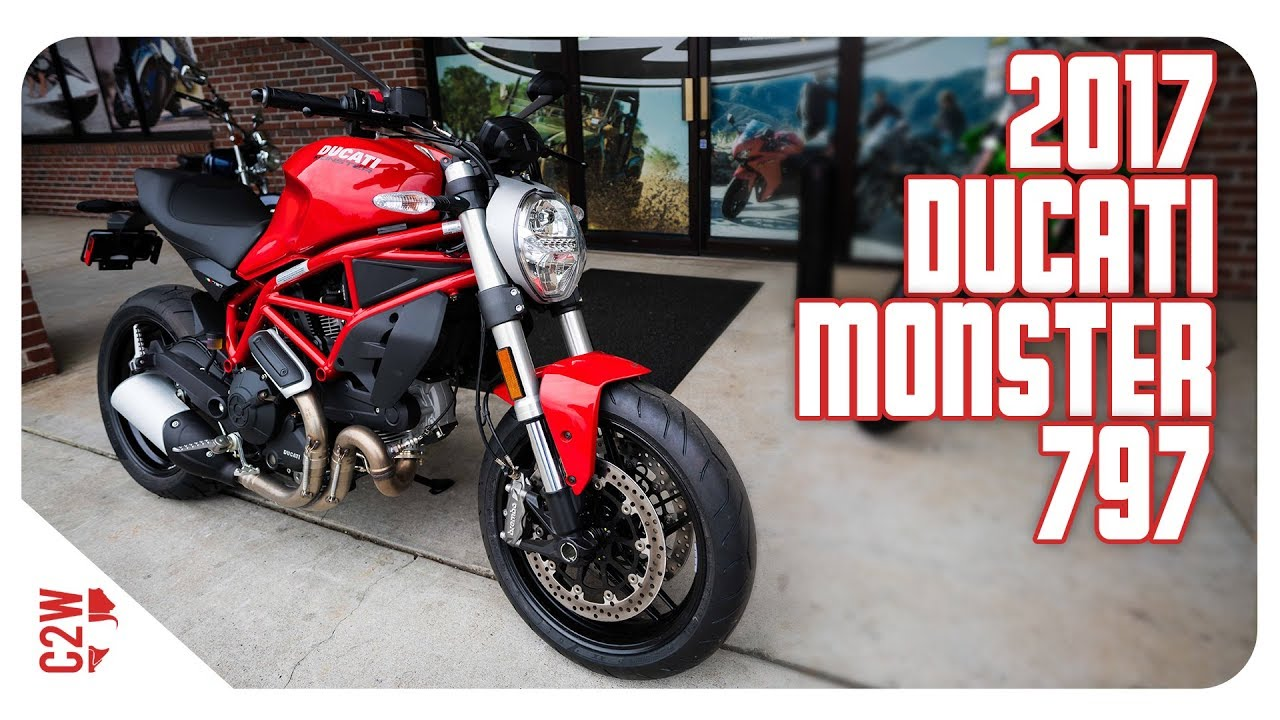 2017 Ducati Monster 797   First Ride - YouTube