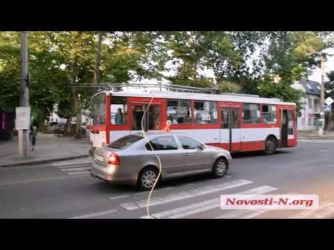 Видео 'Новости-N': В Николаеве столкнулись три автомобиля