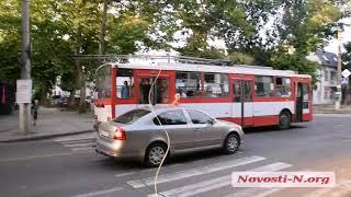 "Видео ""Новости-N"": В Николаеве столкнулись три автомобиля"