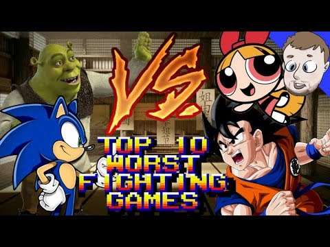 Top 10 Worst Fighting Games - SmashMasterShow