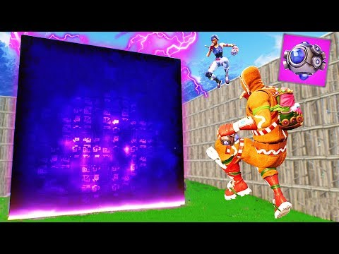 CUBE DODGEBALL in ANTI-GRAVITY - Fortnite Battle Royale