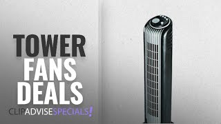 Tower Fans On Amazon Great India Sale [2018]: Bionaire BT14BS Slim Air Circulating Tower Fan (Black)