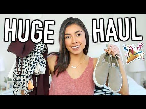 HUGE Try-On Clothing Haul! Nordstrom, Zara, Forever 21, & More!