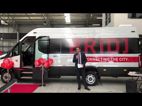 """Transit Systems & Bridj launching """"Demand Responsive bus services"""" in Sydney late Nov 2017"""