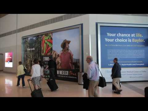 Corey Airport Services--Dallas Love Field Advertising Overview