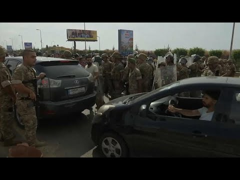 شاهد: محتجون يقطعون الطرقات في مختلف أنحاء لبنان  - نشر قبل 4 ساعة