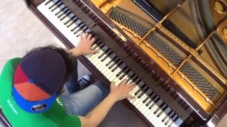 Julian Perretta - Miracle - piano cover acoustic unplugged by LIVE DJ FLO