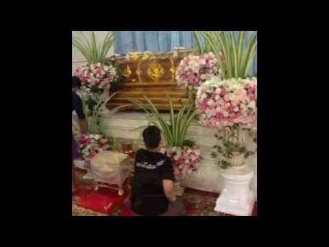จัดดอกไม้งานศพ ณ ฌาปนสถานกองทัพเรือ วัดเครือวัลย์ 14 มิ.ย. 57 เทปที่ 2