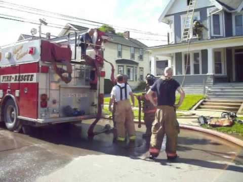 New Bethlehem Fire Department Begins Packing Up