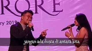 Jangan ada dusta di antara kita by Ihsan Tarore feat Nina @Anniversary Hotel Roditha Banjarbaru