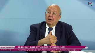 Meraklısına Bilim: 1946'dan 2018'e Türkiye'nin seçimleri - Prof. Dr. Ersin Kalaycıoğlu ile