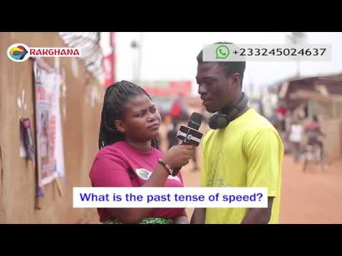 What is the past tense of SPEED? Street Quiz | Funny Videos Mp3
