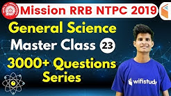 9:30 AM - RRB NTPC 2019 | GS by Neeraj Sir | 3000+ Questions Series (Part-23)