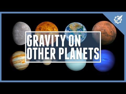 The Gravity On Other Planets | Astronomic