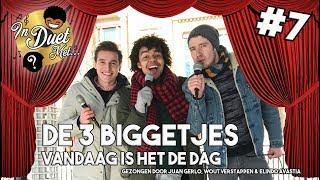 Juan, Wout & Elindo zingen 'VANDAAG IS HET DE DAG' [K3 COVER] - In Duet Met #7