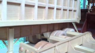 1:24 Scale Wood Truck Models.