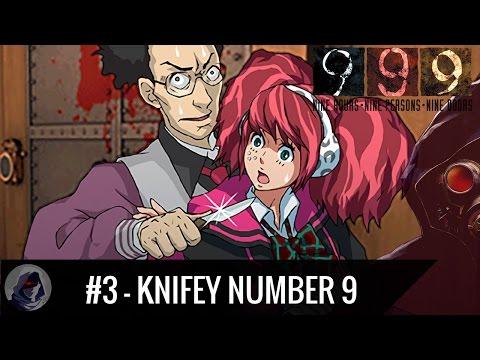 Let's Play Zero Escape - 999 Semi-Blind | Part 3 - Knifey Number 9