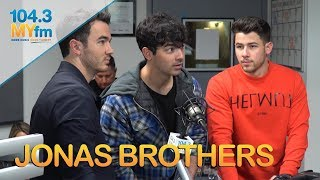 Jonas Brothers Talk Reunion, Game Of Thrones, 'Sucker' & More! Video