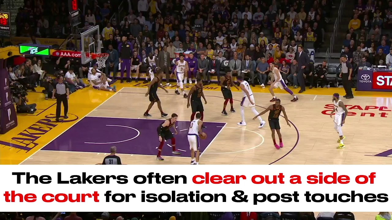LeBron James made a fart noise to describe how the Lakers