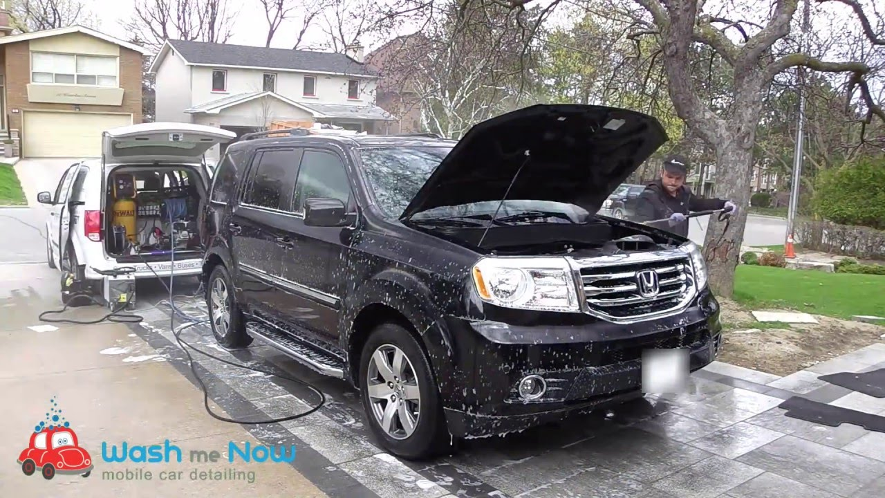 Auto Detailing On Honda Pilot Car Detailing By Wash Me Now