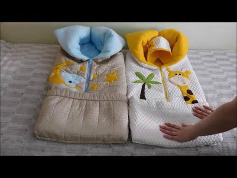 бортики в кроватку бомбоны обзор 01042017 - YouTube