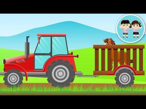 Animalele Domestice - Ghiceste Animaluțele De La Ferma Dupa Voce - Copilasi Dragalasi
