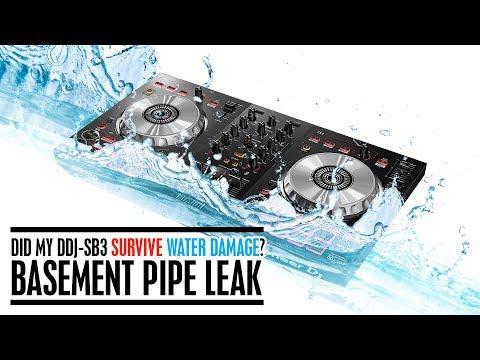 Did my DDJ-SB3 survive water damage? Basement Pipe Leak