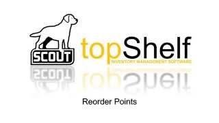 topShelf Reorder Points