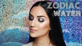 BH Cosmetics Zodiac Palette Makeup Tutorial: Water Element Signs
