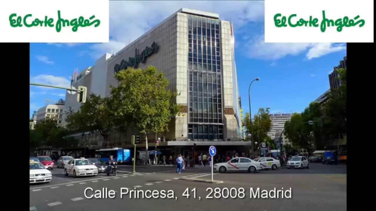 Mejores lugares de compras en madrid el corte ingl s - Zapatero el corte ingles ...