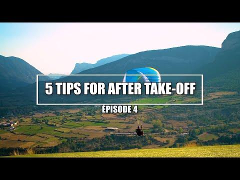 Dù lượn: 5 lời khuyên sau khi cất cánh dù lượn