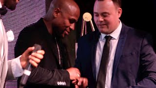 FLOYD MAYWEATHER PRESENTED BY THE EXCLUSIVE MAYWEATHER v PACQUIAO 'MAYPAC' RING (WITH LEE WILKINS)