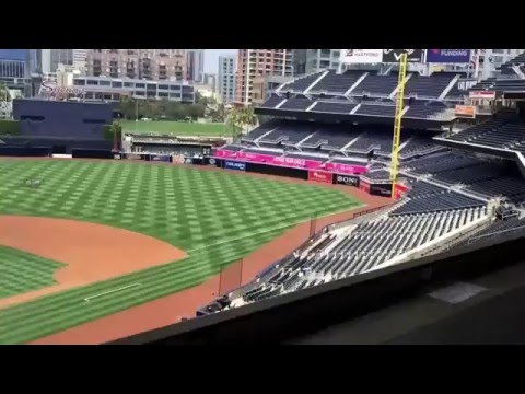 My Tour of Petco Park & San Diego Padres vs. SF Giants 2016.