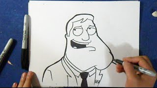 "Cómo dibujar a Stand - ""American Dad"" 